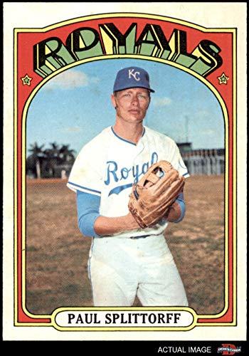 - 1972 Topps # 315 Paul Splittorff Kansas City Royals (Baseball Card) Dean's Cards 8 - NM/MT Royals
