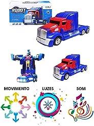 Caminhão Vira Robô Transformers