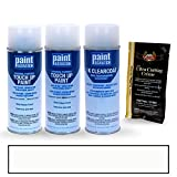 PAINTSCRATCH White Platinum Tricoat UG for 2014 Ford F-Series - Touch Up Paint Spray Can Kit - Original Factory OEM Automotive Paint - Color Match Guaranteed