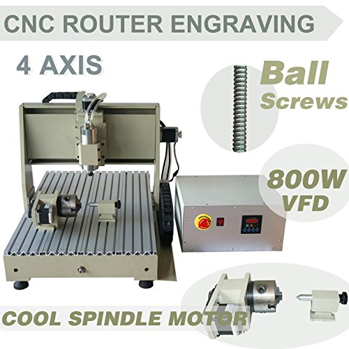 CNCEST CNC Router Engraving Machine Engaver 6040T Cool Spindle