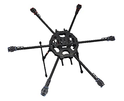Amazon.com: Tarot Fy680 3k Carbon Fiber Full Folding Hexacopter ...