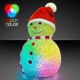 Toys : Color Changing LED Snowman Light Up Decoration
