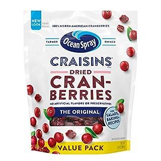 Ocean Spray Craisins Dried Cranberries, Original, 24 Oz