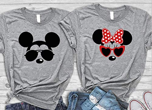 Husband Wife Disney Unisex Shirt, Family Vacation T-shirts]()