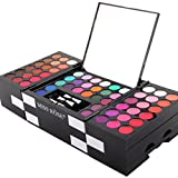 YJYdada 1 Set Make Up Matte 144 Color Eye Shadow 3 Color Blush 3 Color Eyebrow Powder