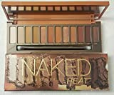 Naked Heat Eyeshadow Palette - Waterproof Eye Shadow Palette