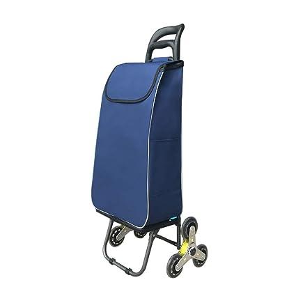 b33bfa388070 SXRNN 3 Wheels Shopping Trolley Trolley Bag Shopping Cart Groceries ...