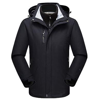 2cade769e Men Warm Ski Jacket - Outdoor Sports Waterproof Windproof Coat 3 in ...