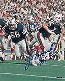 #8: O.J. Simpson Signed Photo - Joe Delamielleure 8x10 Oj 11032 - Autographed NFL Photos