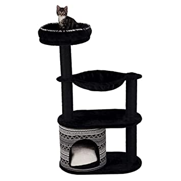 EQT-TEC Árbol rascador para Gatos, para Gatitos, árbol de Juego, árbol de Escalada, Cesta para Gatos, Juguete: Amazon.es: Productos para mascotas