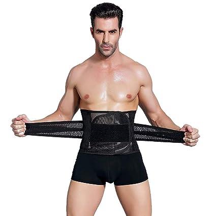 d71431f124 Nochim Breathable Waist Trimmers for Men Belly Abdomen Fat Burner Belt  Burning Waist Pain Relief Cincher