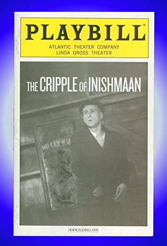 The Paralytic of Inishmaan, Off-Broadway playbill + Marie Mullen, Patricia O'Connell, Andrew Connolly, David Pearse, Aaron Monaghan, Laurence Kinlan, Kerry Condon