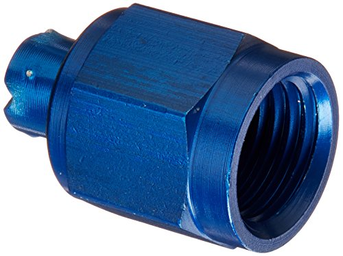 Aeroquip FCM3752 Blue Anodized Aluminum -4AN Tube Cap Fittings - Pack of 2 by Aeroquip