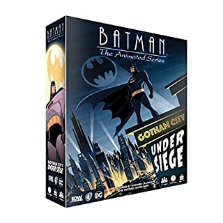 IDW Games 1537Idw Batman: The Animated Series-Gotham City Under Seige Game (JUN180756)