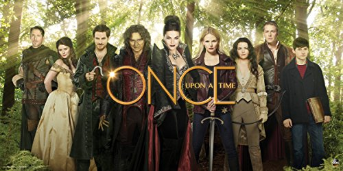 Culturenik Once Upon a Time Main Cast in Enchanted Forest Fantasy Drama Fairy Tale TV Television Show Print (Unframed 12x24 Poster)