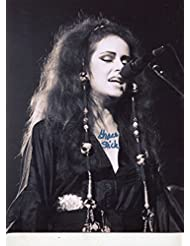 "GRACE SLICK Jefferson Airplane / Starship signed ""In Concert"" 8x11 photo / UACC Registered Dealer # 212"
