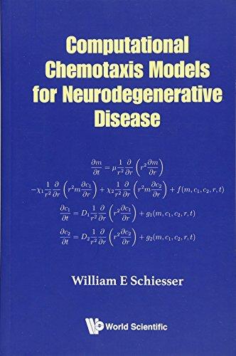 Computational Chemotaxis Models For Neurodegenerative Disease