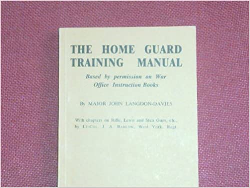 Buy The Home Guard Training Manual Based By Permission On War