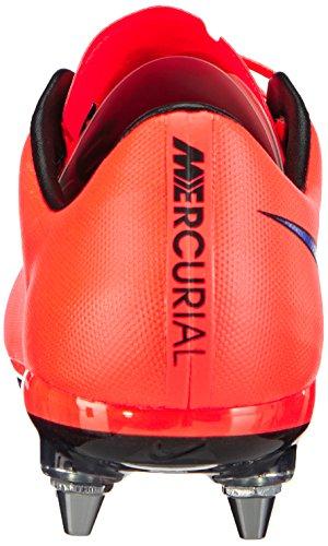Nike Mercurial Vapor SG-Pro - zapatillas de fútbol de material sintético hombre rojo - Rot (Leuchtendes Karmesinrot/Persisches Violett 650)