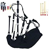 Scottish Great Highland Bagpipe Full Set Ready to Play Free Bagpipe Tutor Book & Accessories