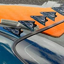 Shark Spoiler Pointed Style Decoration