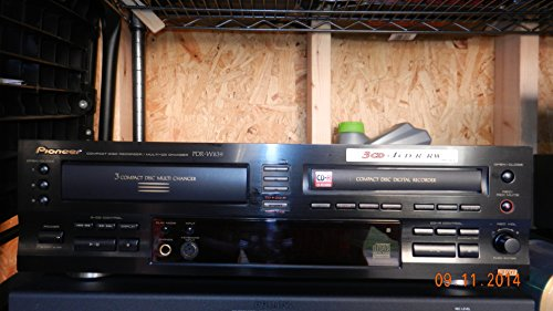 Recorder Cd Pioneer (Pioneer PDR-W839 CD Recorder 3 CD Changer Records on CD-R/RW/2X Speed.)
