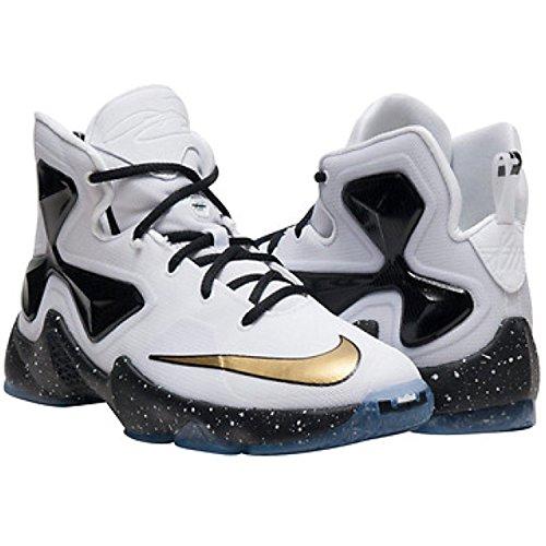 Nike Lebron Xiii (Gs), Zapatillas de Baloncesto para Niños Blanco