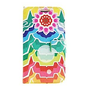 TOPAA Kinston Flowers Toward The Sun Pattern PU Leather Full Body Case for Samsung Galaxy S3 I9300