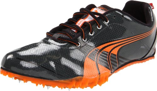 Puma Complete TFX Sprint III Track Shoe,Dark Shadow/Steel Grey/Orange/Black,11 D US