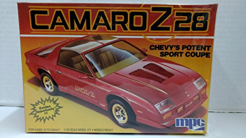 MPC 6308 1986 Chevy Camaro Z28 Coupe 1:25 Scale Plastic Model Kit - Requires -