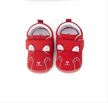 guhua scarpe per bambini maschi e femmine 0 1 anni scarpe per neonati antiscivolo con fondo morbido neonato scarpe rosse 12 15 mesi amazon it casa e cucina amazon it