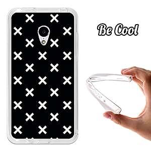 Becool® - Funda Gel Flexible para Meizu M3 .Carcasa TPU fabricada con la mejor Silicona protege, se adapta a la perfección a tu Smartphone y con nuestro diseño exclusivo