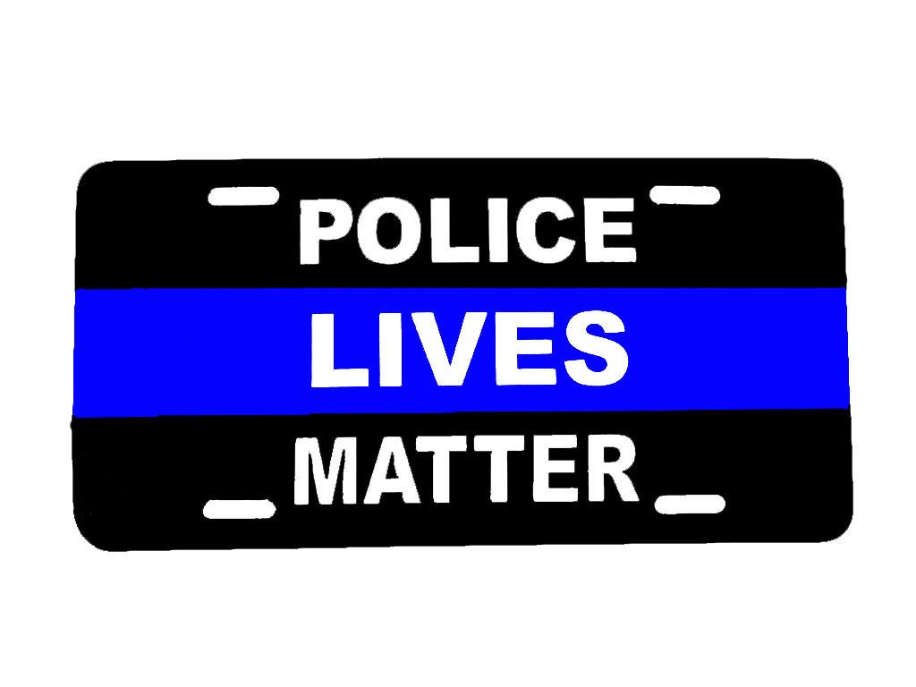 Amazon Com Police Lives Matter Blue Line Back The Blue Cop