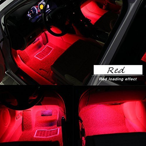 EJ's SUPER CAR Car Interior Atmosphere Neon Lights Strip for Car-Car styling Interior Dash Floor Foot Decoration Light Lamp Cigarette LED,Waterproof