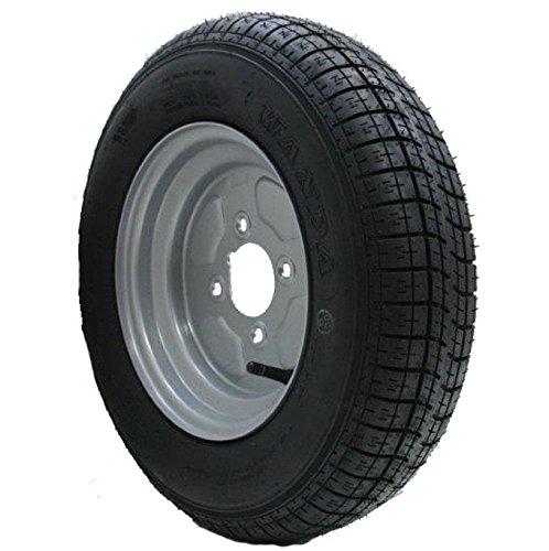 Parnells 10 inch trailer wheel & tyre 145 10 6 ply 400kgs 76M 4 stud 4 pcd Wanda H1022