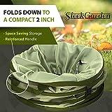 Collapsible 30-Gallon Canvas Garden Waste Bag
