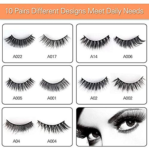 Buy eye lashes with glue set