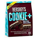 HERSHEY'S COOKIE + Milk Halloween Chocolate Candy Bars, Vanilla Crème, 138 Gram