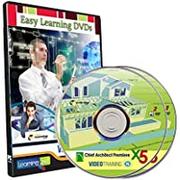Easy Learning Learn Chief Architect Premier X5 Complete Video Tutorial (2 DVDs)
