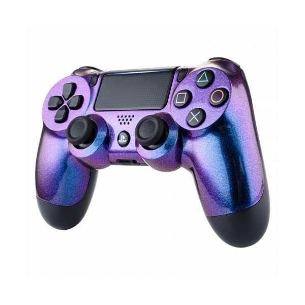 OC Gaming PS4 Dualshock Playstation 4 Controller Custom Soft Touch New Model JDM-040 (Chameleon) 3