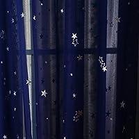 Kids Room Window Curtain Decoration Rod Pocket Process...
