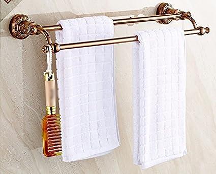 GBHNJ - Juego de toallas de baño, doble caña de pescar, para colgar en
