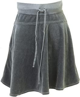 product image for Hard Tail Junior Velour Drawstring Skirt (M, Green)