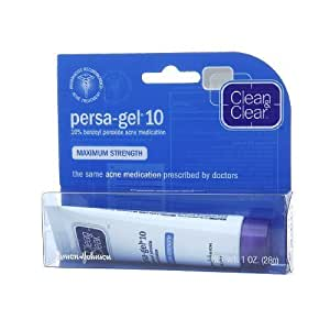 clean and clear persa gel 5 how to use