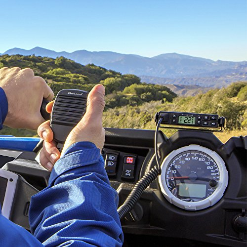 Midland Consumer Radio GXT1000XB Micro Mobile 5W Gmrs with A Portable 36-Mile 50-Channel GMRS Two-Way Radios Bundle by Midland (Image #3)