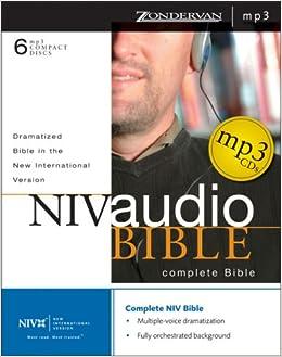 NIV Dramatized Audio Bible: Zondervan: 9780310922643: Amazon com: Books