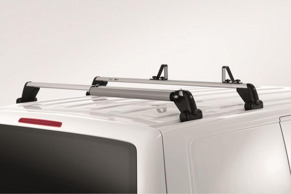 03-15 Rhino Delta 4 Bar Roof Bars Load Stops for VW Transporter T5 T Track
