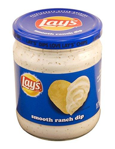 Lay's Smooth Ranch Dip 15 Oz Jar by Frito Lays by dreamshop