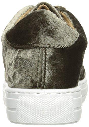 Qupid Femmes Reba-161c Mode Sneaker Kaki Écraser Velours