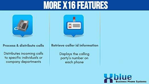 Amazon.com: XBlue xb1606ch 6-handset teléfono fijo de 4 ...